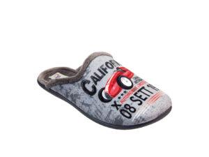 BOY MULE SLIPPER IN SOFT FLEECE 9330131 Boy Mule Slippers