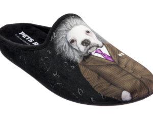 CIABATTA UOMO IN TESSUTO MORBIDO PETS ROCK BRAIN 5566011 Ciabatte Uomo Pets Rock