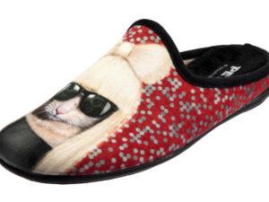 CIABATTA DONNA IN TESSUTO MORBIDO PETS ROCK GG 5561001 Ciabatte Donna Pets Rock