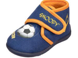 PANTOFOLA BAMBINO SNOOPY IN MICROFIBRA 4715340 Pantofole Snoopy