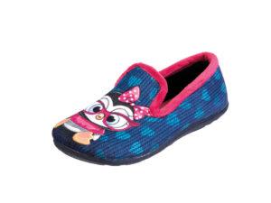 PANTOFOLA BAMBINA IN TESSUTO MORBIDO 9330157 Pantofole Bambina
