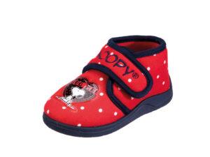 PANTOFOLA BAMBINA SNOOPY IN PILE 4715769 Pantofole Snoopy