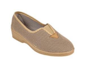 PANTOFOLA DONNA IN RETE ELASTICO CENTRALE 5555428 Pantofole Tela Donna