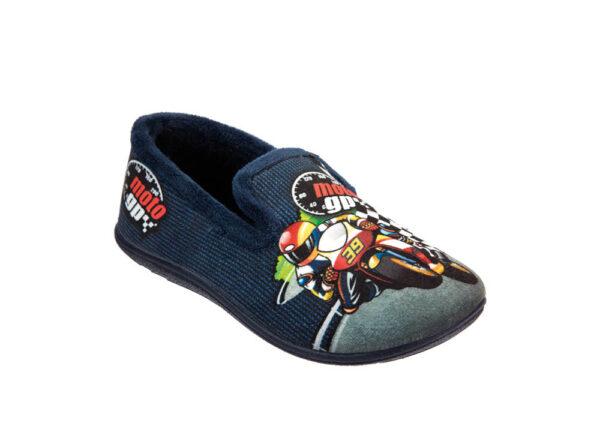 PANTOFOLA BAMBINO IN TESSUTO MORBIDO 9330134 Pantofole Bambino
