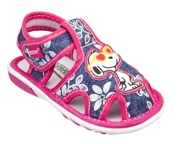 RAGNETTO BAMBINA SNOOPY IN JEANS  2215570 Sandali Snoopy