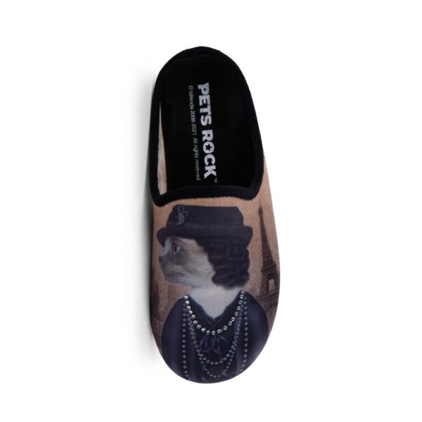 CIABATTA DONNA IN TESSUTO MORBIDO PETS ROCK PARIS 5561028 Ciabatte Donna Pets Rock